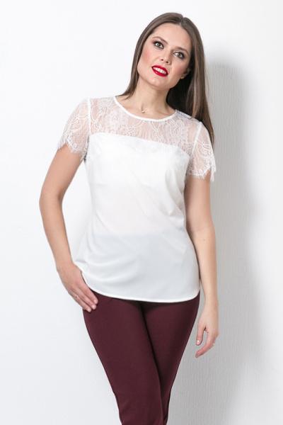 Блуза с кружевом, Б-265/1